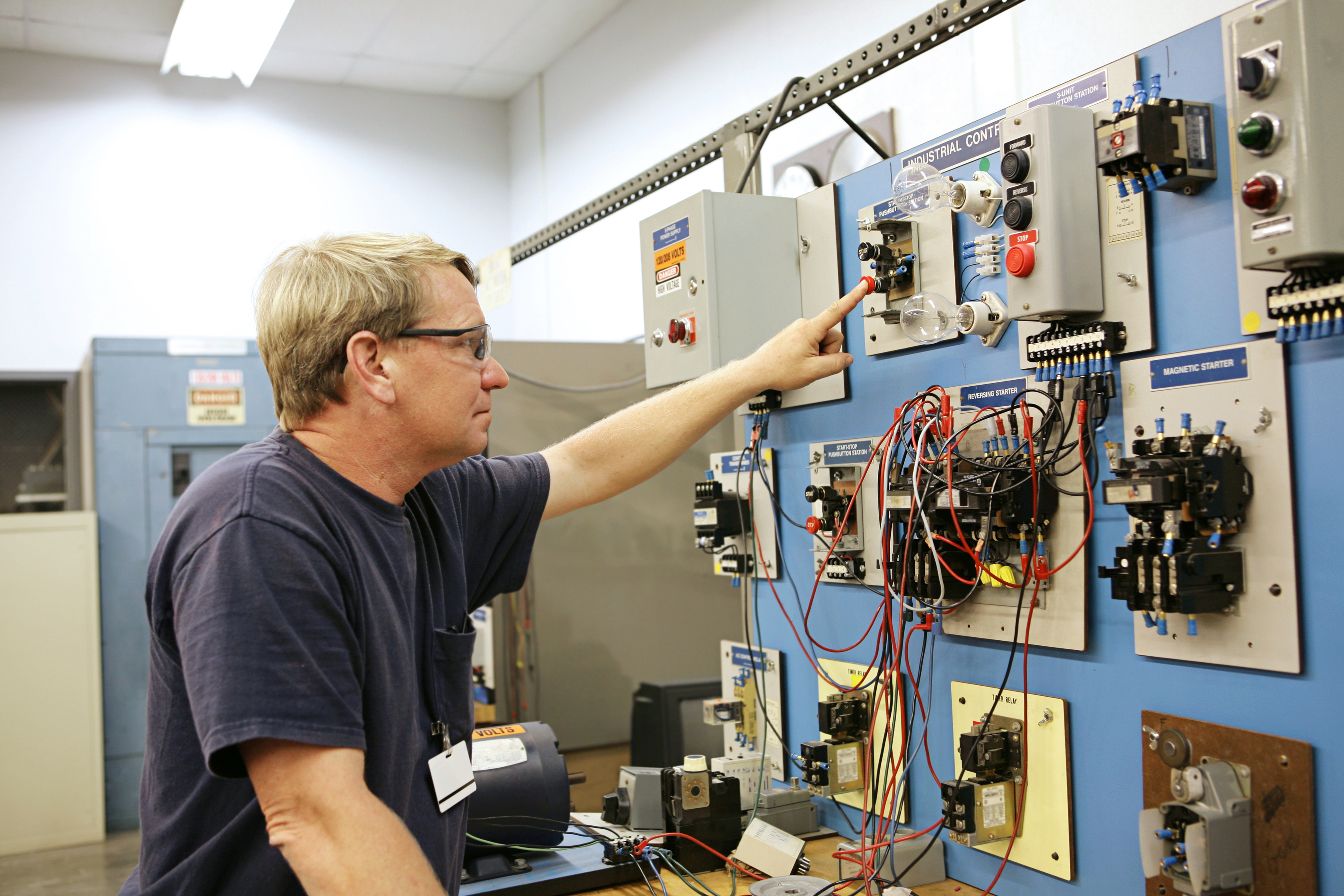 Elektrciteit Residentieel Gevorderd Praxis Training