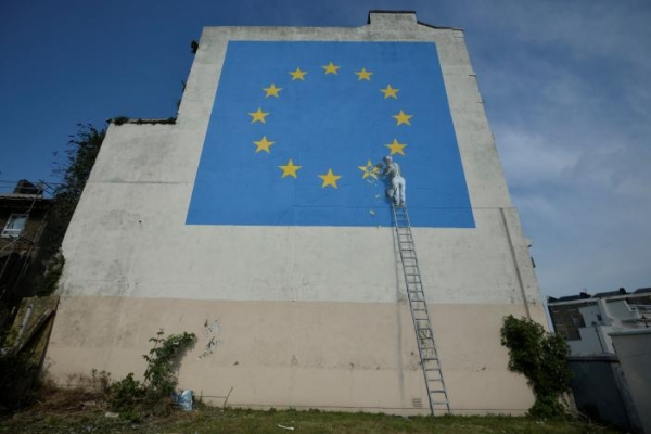 Fool of the week: Banksy - kunst op hoogte